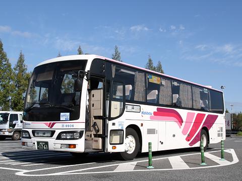 西日本鉄道「フェニックス号」 9906 宮原SAにて