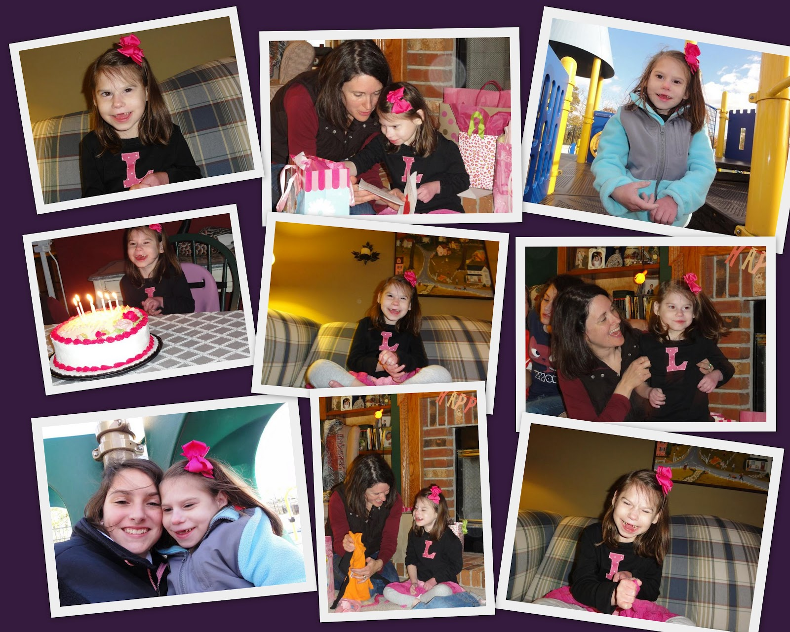 7th Birthday Collage