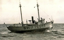 Swiftsure Lightship Classic- turning mark was a lightship