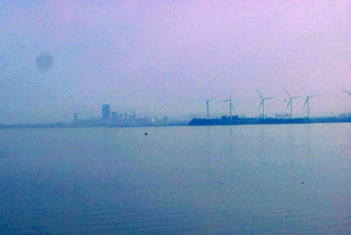 Skyline & Windmills
