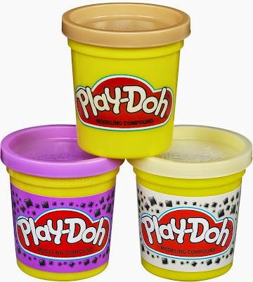 Đồ chơi Bột nặn 3 màu làm kem Play-Doh Plus trắng tím thật bổ ích và lý thú