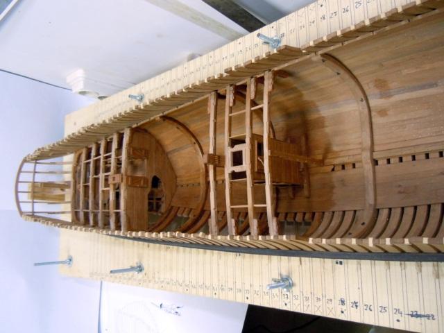 """Modèle du """"Gros-Ventre"""" au 1/36 par Adrian Sorolla GV1106026"""