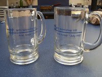 Photograph of two MTS workshop mugs