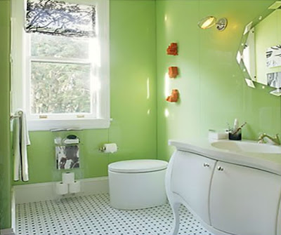 Green Interior Design Ideas Bathroom
