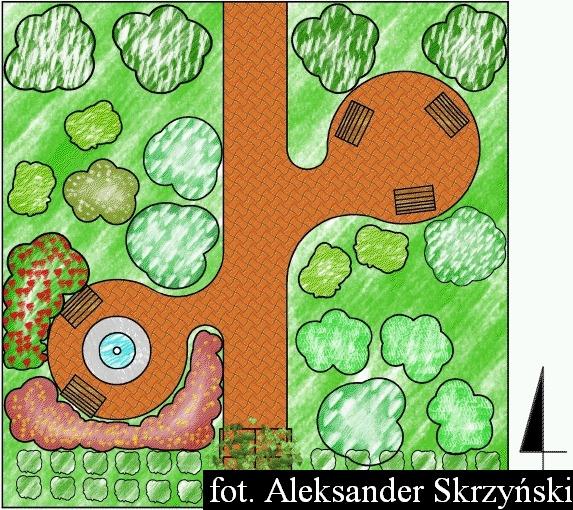 Projekt Ogrodu Owocowego Dla Pensjonatu W Zakopanem Na Powierzchni 4a