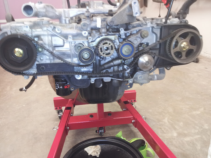 Subaru Timing Belt Pulley Torque : Rs open light build page