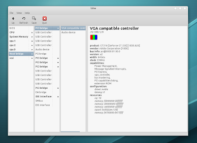 lshw-gtk screenshot