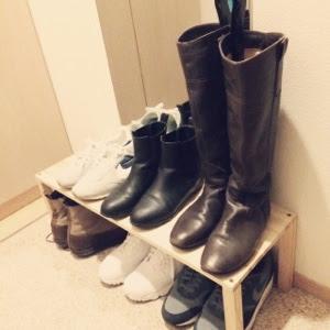 ミニマリストワードローブ靴