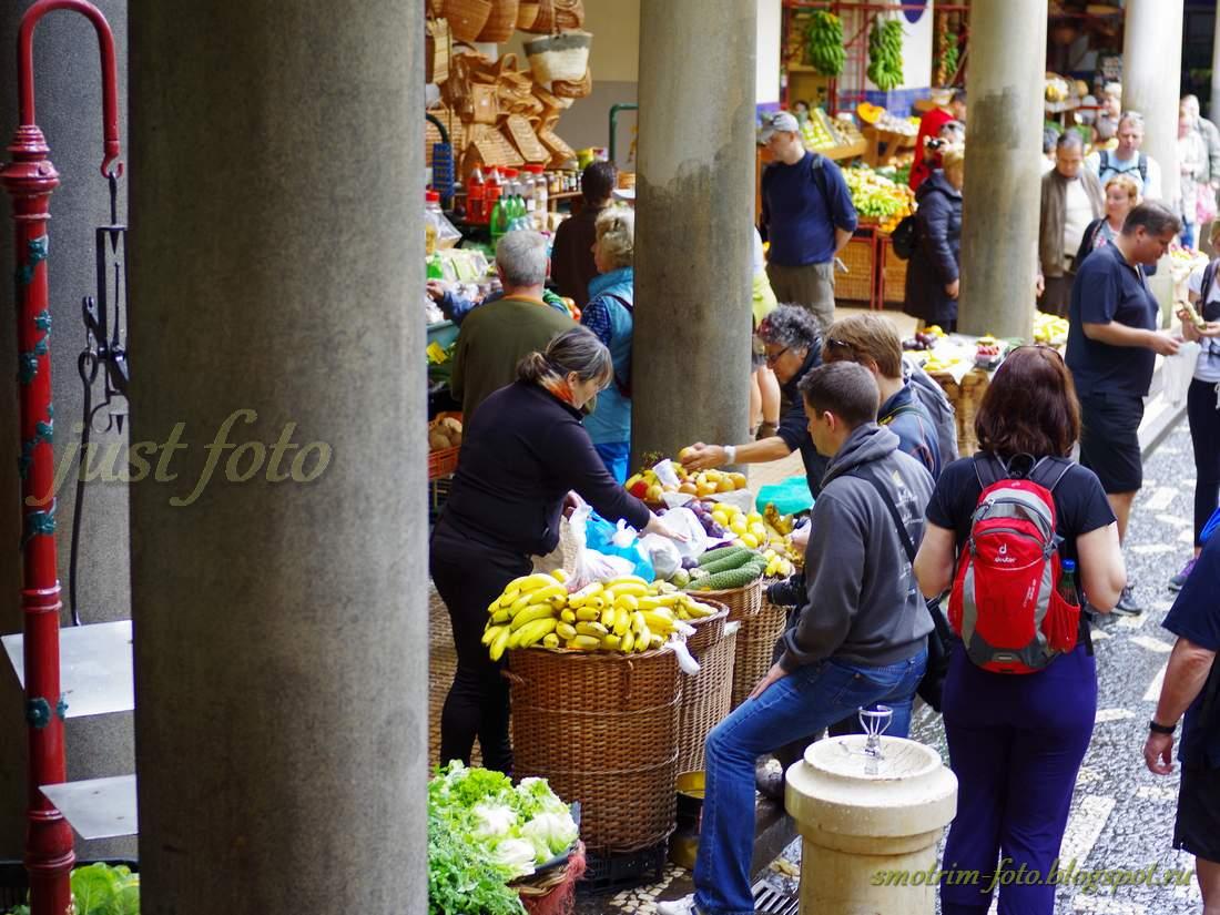 Фуншал, Mercado Dos Lavradores