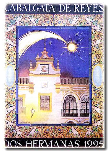 Cartel Cabalgata 1995, autor: Paco Sánchez