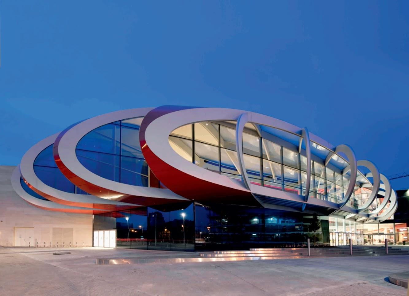 Aeroporto Internazionale di Carrasco (MVD), 101 km 19950, Ciudad de la Costa 14000, Uruguay: Mediacite by Ron Arad Architects
