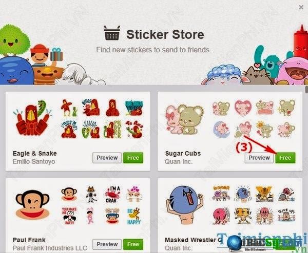 Hình 3: thêm biểu tượng chat facebook