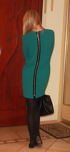Овальное платье