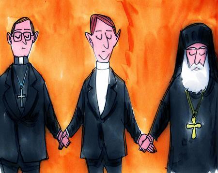 cilvēku radīta kristīga vienotība