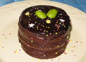 dessert au chocolat pour Pâques