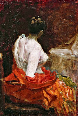 Giuseppe de Nittis - Prima del ballo, 1879