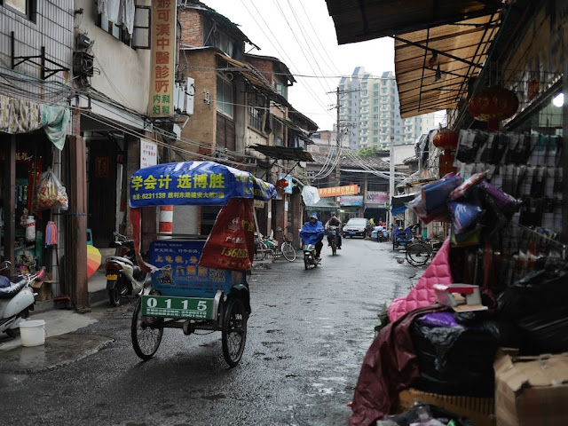 Renshi Road (人师路) in Zhangzhou