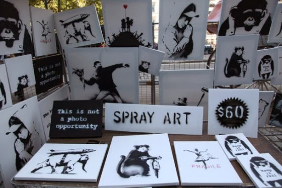 Stand de Banksy