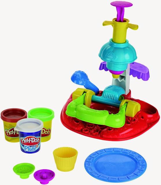 Bộ sản phẩm Bột nặn thiên đường bánh ngọt Play-Doh rất đẹp mắt