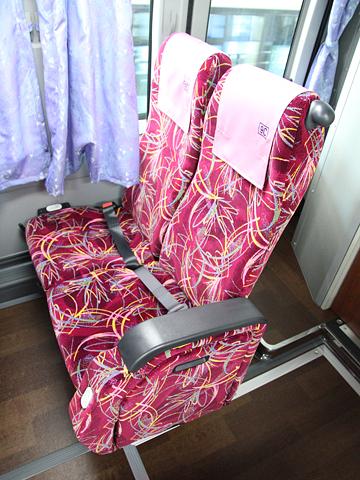 産交バス「B&Sみやざき」 ・990 シート