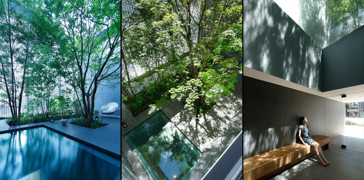 Optical Glass House design by Hiroshi Nakamura & NAP