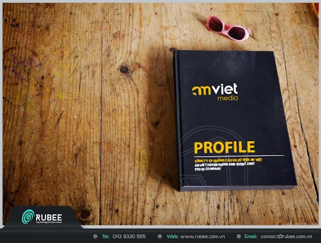Thiết kế profile Anviet media 1 đẹp