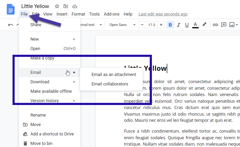 How To Send A Google Doc As An Email Attachment G Suite Tips