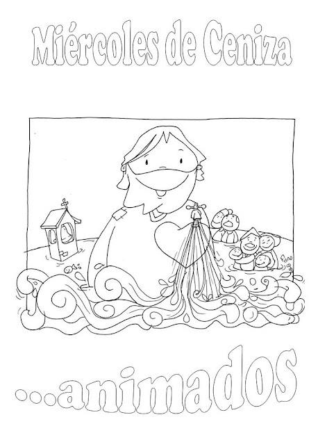 Especial De Cuaresma Dibujos Para Colorear