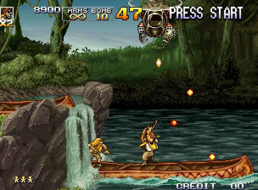 how to play 2 player on metal slug pc