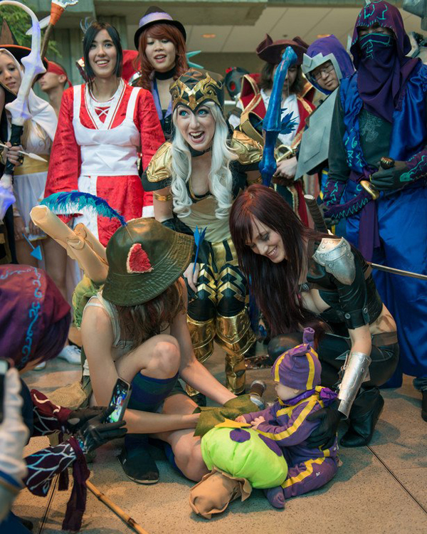 Missyeru và cosplay Ashe tuyệt đẹp tại Pax Prime 2012 - Ảnh 5