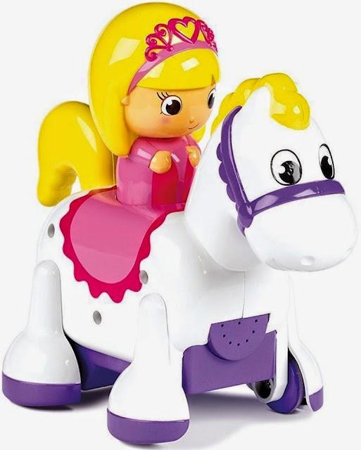 Hình ảnh nàng Công chúa cưỡi ngựa Tomy Clip Clop Princess thật dễ thương