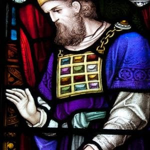 Jewish Priest in Stained Glass – Ballymote – Church of the Immaculate Conception