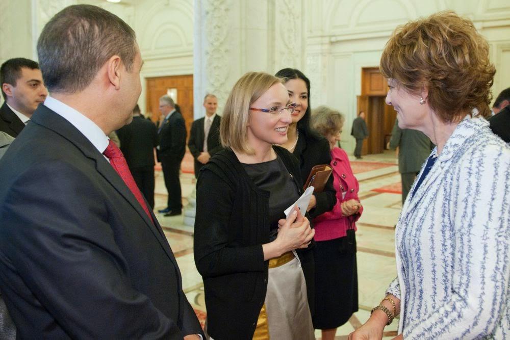 Fotografii de la Sesiunea Solemnă a Parlamentului, 1 aprilie 2014, la care a participat Principesa Moştenitoare Margareta