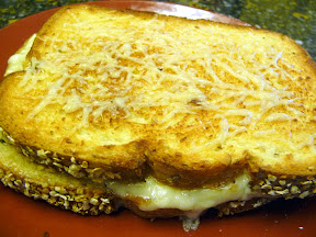 parmesan crusted grilled cheese