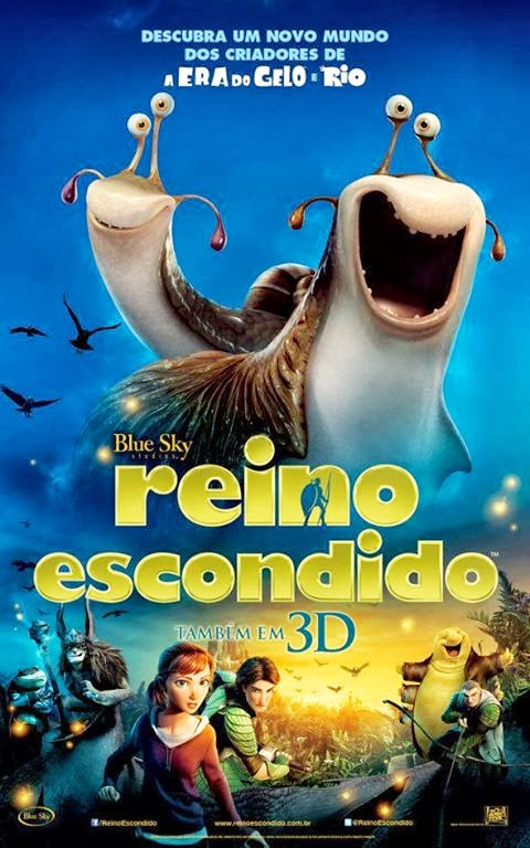 Filme Poster Reino Escondido HDRip XviD Dual Audio & RMVB Dublado