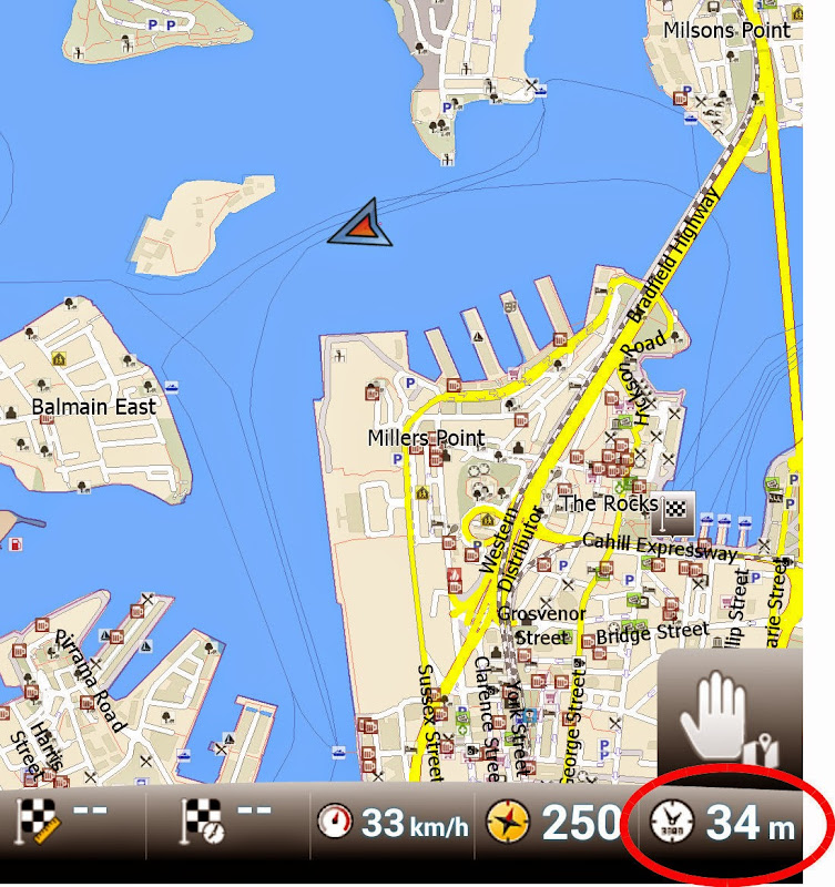 GPS Screenshot