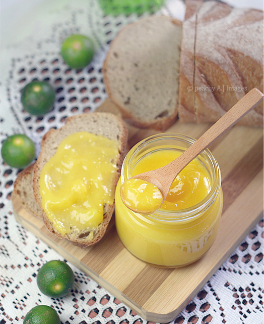 The Peach Kitchen's Calamansi Curd | www.thepeachkitchen.com