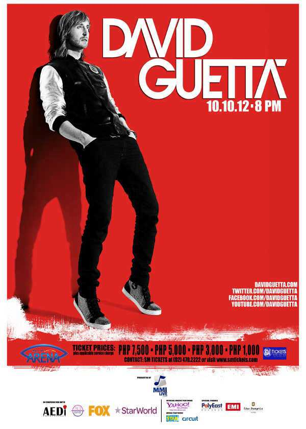 David Guetta Live in Manila