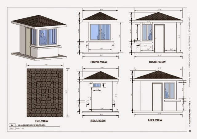 Orpheo Design: Guard House Design