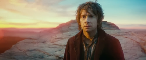 Screen Shot Of Hollywood Movie The Hobbit An Unexpected Journey (2012) In Hindi English Full Movie Free Download And Watch Online at Alldownloads4u.Com