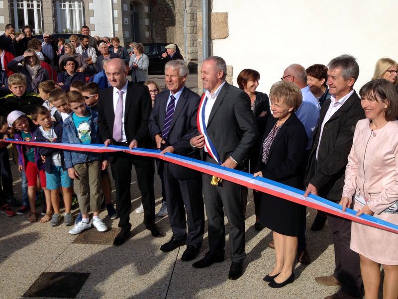 Inauguration de la médiathèque de Saint-Thuriau le 24 septembre 2016