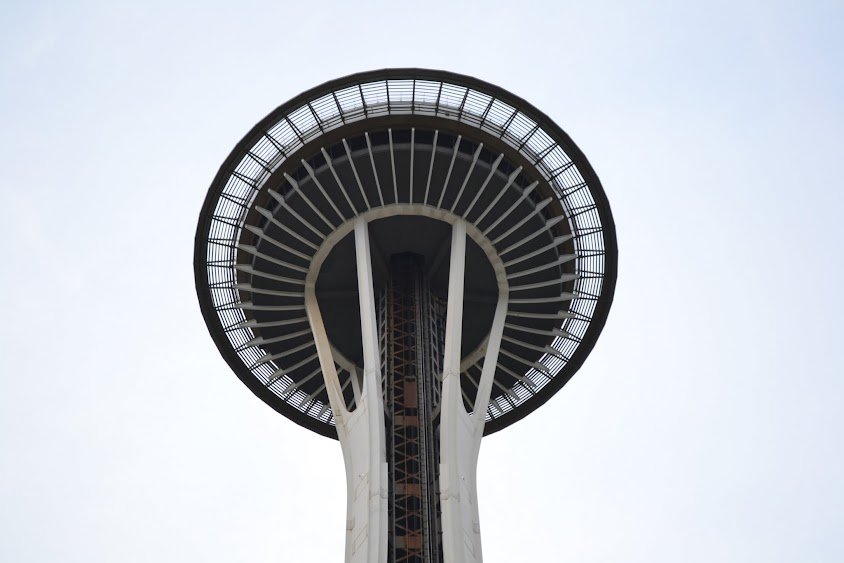 Спейс-Нидл, Сиэтл, Вашингтон (Space Needle, Seattle, WA)