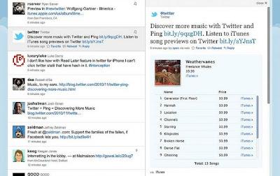 Twitter podría disfrutar de una mayor integración en la próxima versión de iTunes