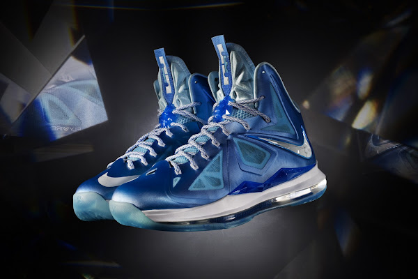LeBron X Launch Colorways Blue Diamond 8220Pressure8221 Jade