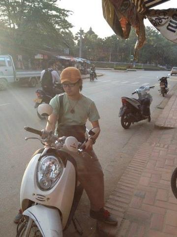 レンタルバイク(ルアンパバーン)
