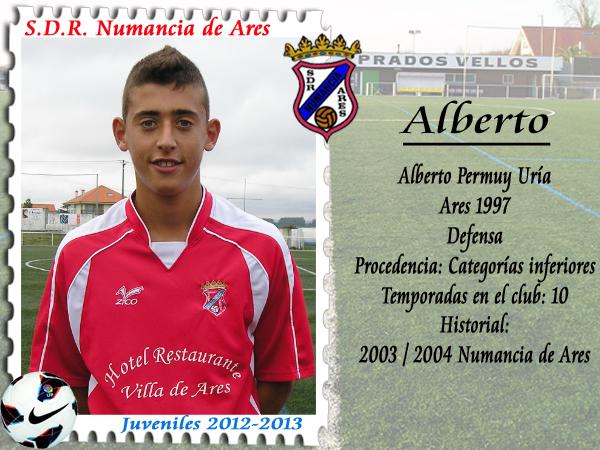 ADR Numancia de Ares. Alberto.
