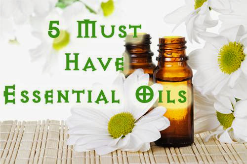 Five Must Have Essential Oils For Your Pantry