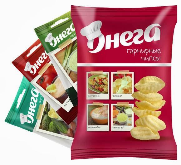 гарнирные чипсы с соусами