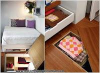 5 gợi ý lưu trữ cực tiết kiệm diện tích cho nhà chật - Thi công trang trí nội thất