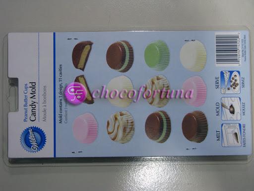 Cetakan Coklat 2115-1522 Peanut Butter